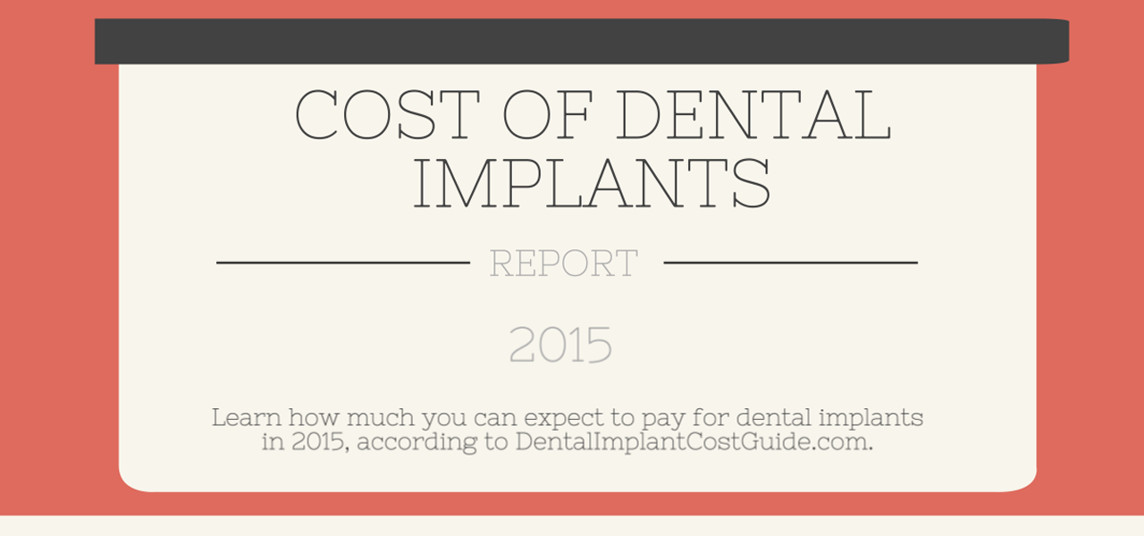 how much do dental implants cost   infographic