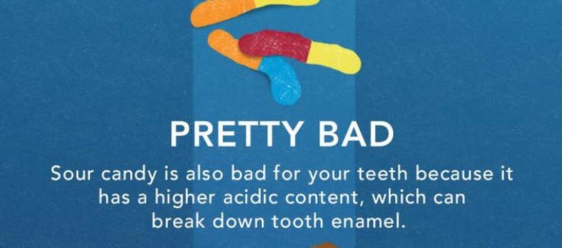 The Best and Worst Candies For Your Teeth